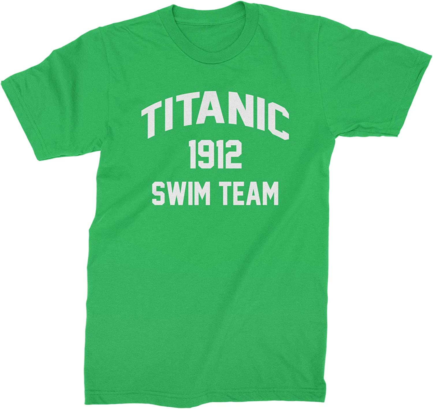 Expression Tees Titanic Swim Team 1912 Funny Tie-Dye Youth-Sized Hoodie
