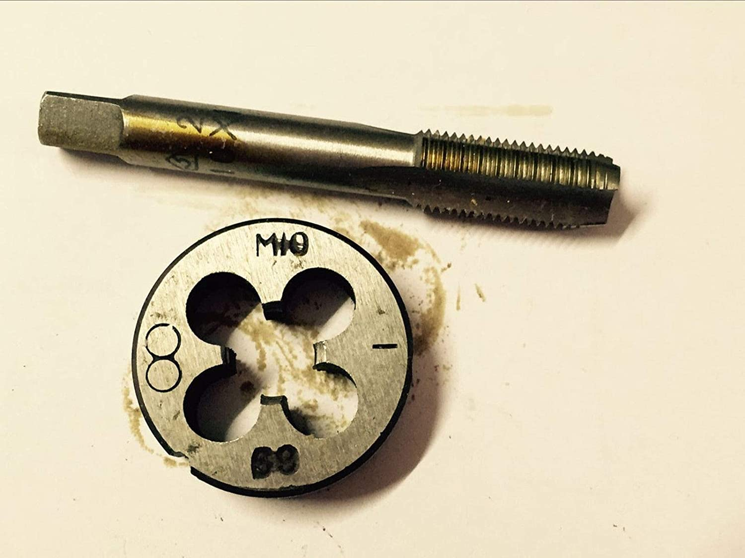 1pc Metric Right Hand Die M10x1.25 mm Dies Threading Tools 10mm x 1.25mm pitch