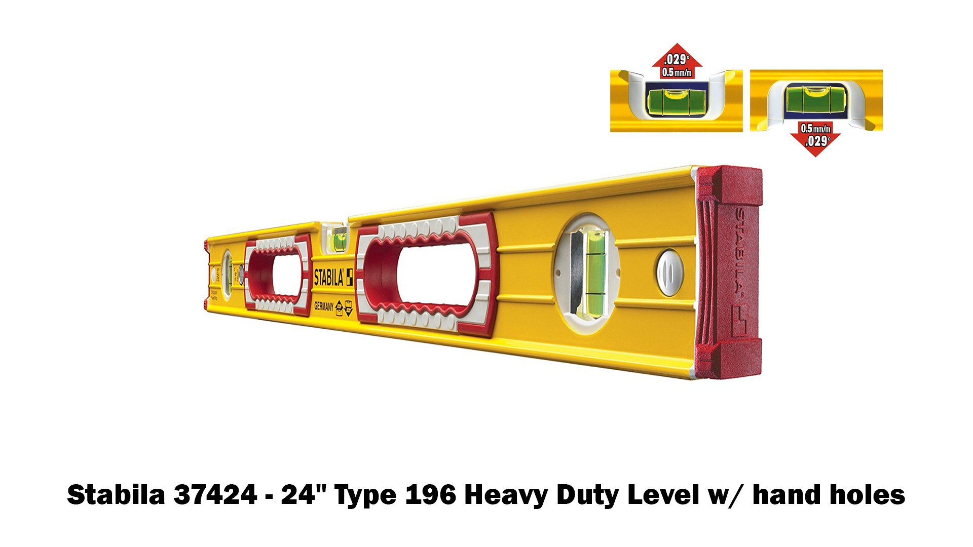 Stabila 196 Level Set Kit - 78''/58''/32''/24''/16'' Torpedo and Case by Stabila (Image #3)