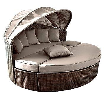 Venus redonda de jardín sofá sofá diseño circular de | con ...