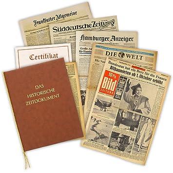 Amazon De Historia Geschenkidee Zum 90 Geburtstag Zeitung Vom Tag