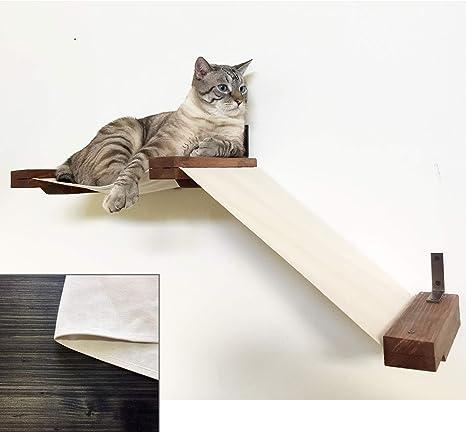 CatastrophiCreations - Estantería de Tela para Gatos
