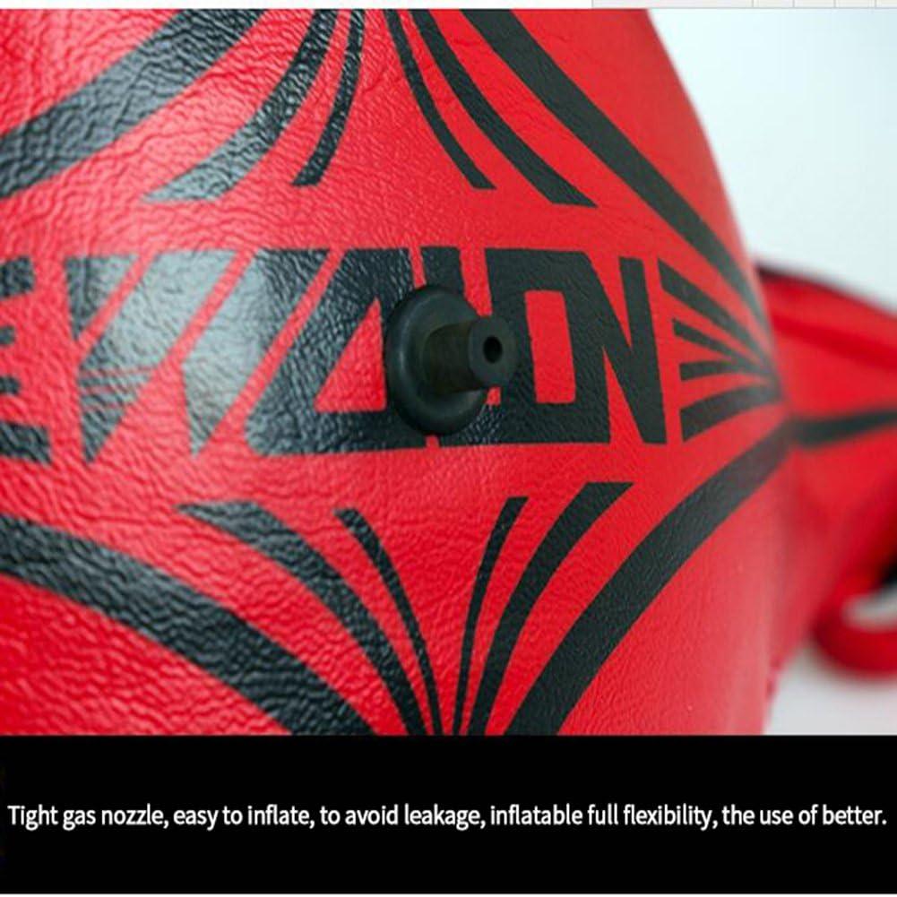 Smarcent Ballon de Boxe Vitesse Entra/înement Ball Double-extr/émit/é MMA Speed Punch Dodge Bag /Équipement de Boxe Professionnel en Cuir Body Building Fitness Entra/înement Hanging Kickboxing Balls