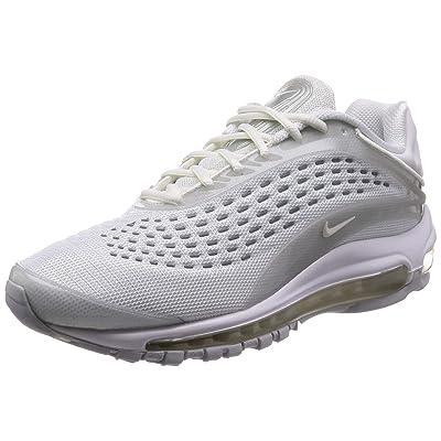 Nike Men's Air Max Deluxe, White/SAIL-Pure Platinum, 8.5 M US | Road Running