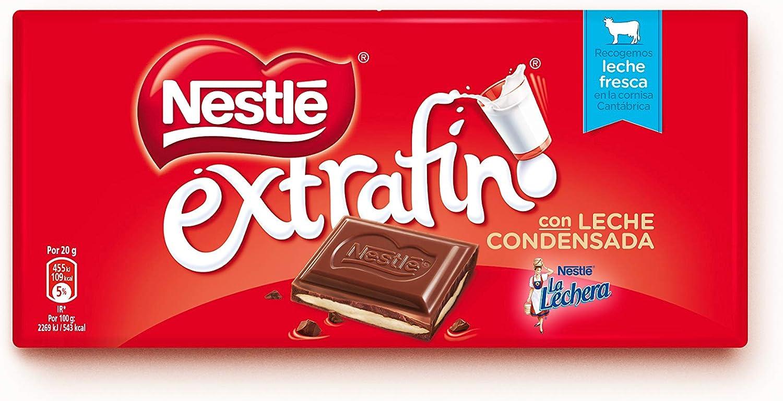 Nestlé Extrafino La Lechera Chocolate con Leche Condensada ...