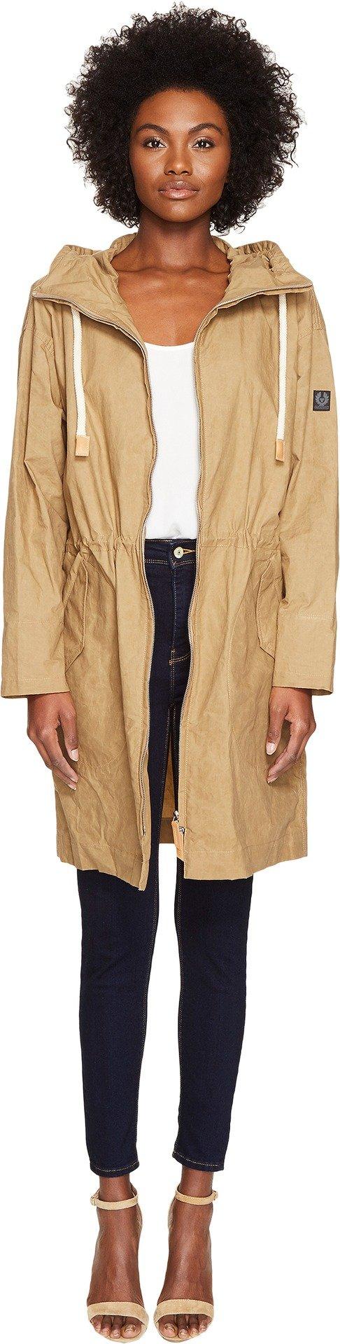 Women's Belstaff Rivingten Adventure Travel Jacket - Golden Khaki - EURO SIZE 36/US SIZE S