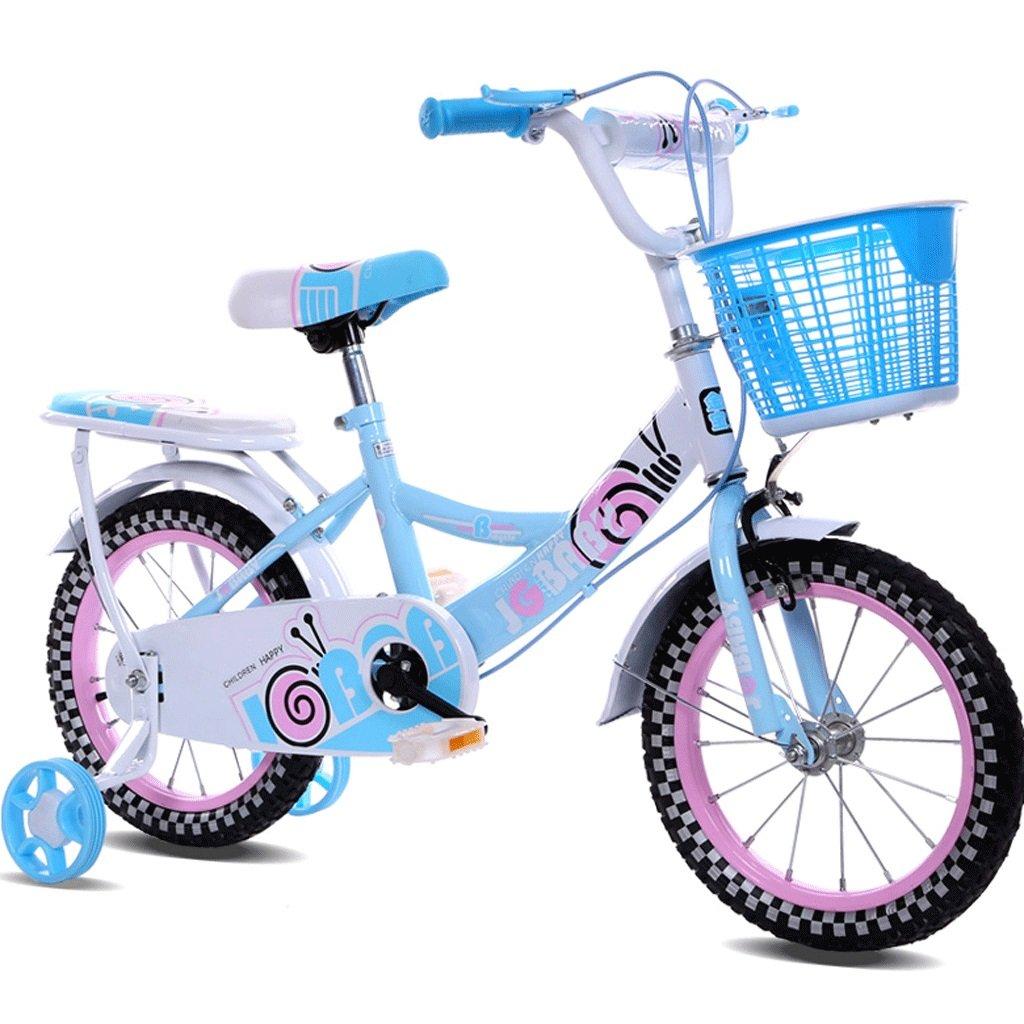 DGF 子供の自転車女性12インチ14インチ16インチの男の子の赤ちゃんの自転車3-10歳の子供の自転車 (色 : 青, サイズ さいず : 12インチ) B07F2F6T8K 12インチ|青 青 12インチ