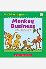 First Little Readers: Monkey Business (Level C) Kindle Edition