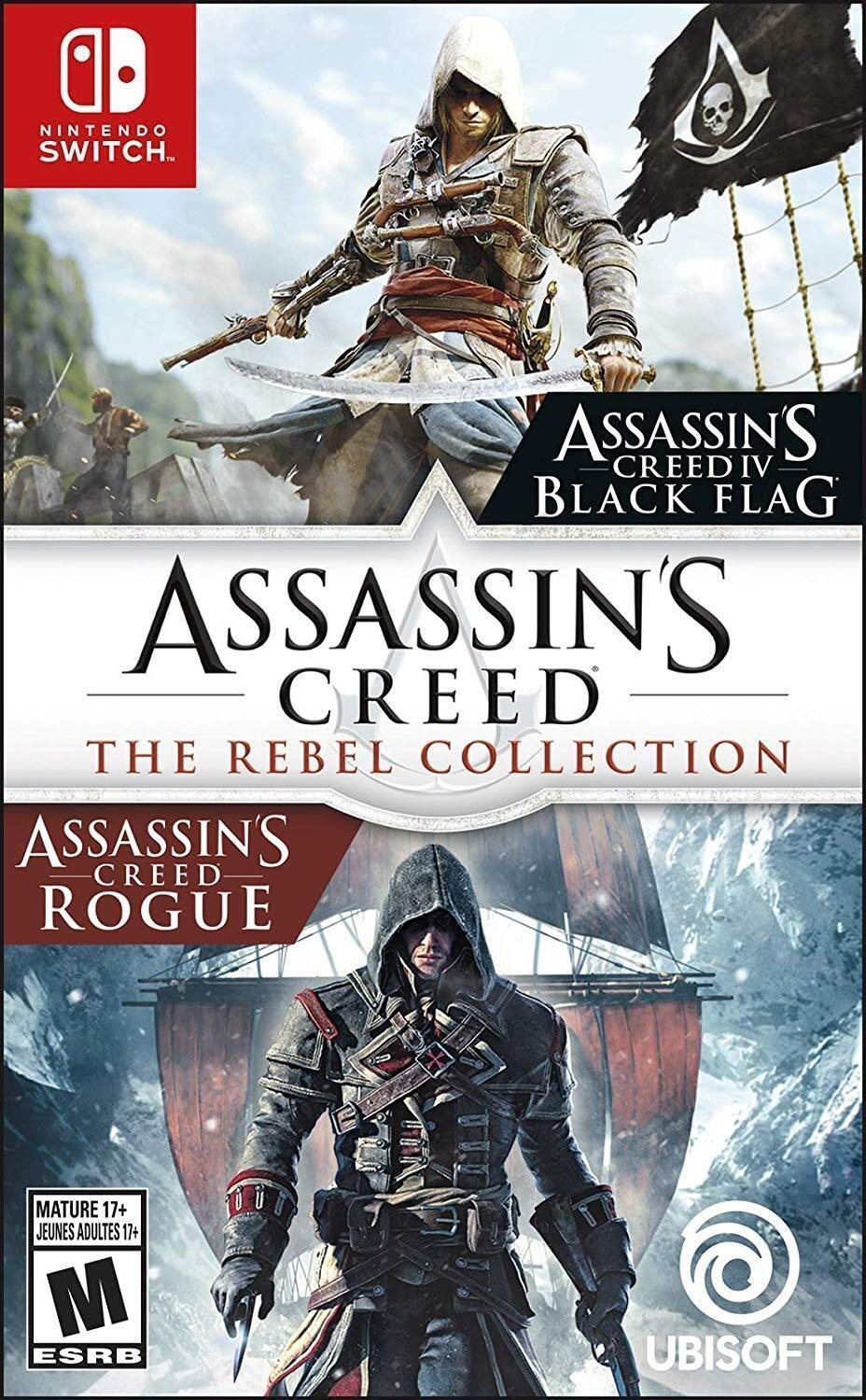 Amazon Com Assassin S Creed The Rebel Collection Nintendo