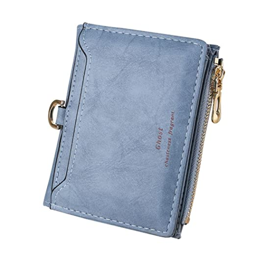 Damen Herren Brieftasche Geldbörse Geldbeutel Portemonnaie Niet Lang Handtasche