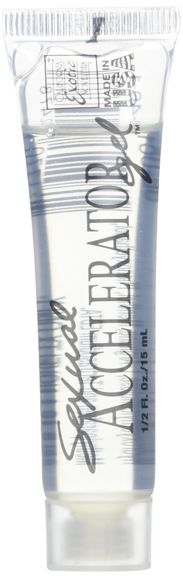 California Exotic Novelties Sexual Accelerator Gel, Clear