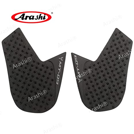 Motorbike Accessories Arashi Anti Slip Tank Protective Pad Side Gas Knee Grip Traction Pads Protector Stickers For Yamaha Mt07 Mt-07 Mt 07 2013-2016