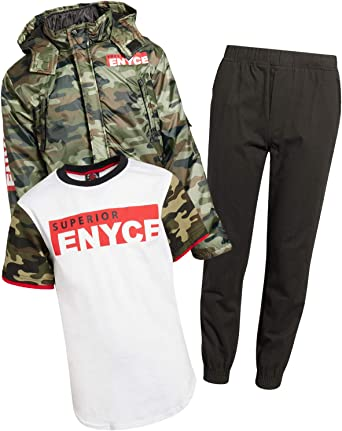 Enyce Boys 3-Piece Pant Set with Jacket and Tee