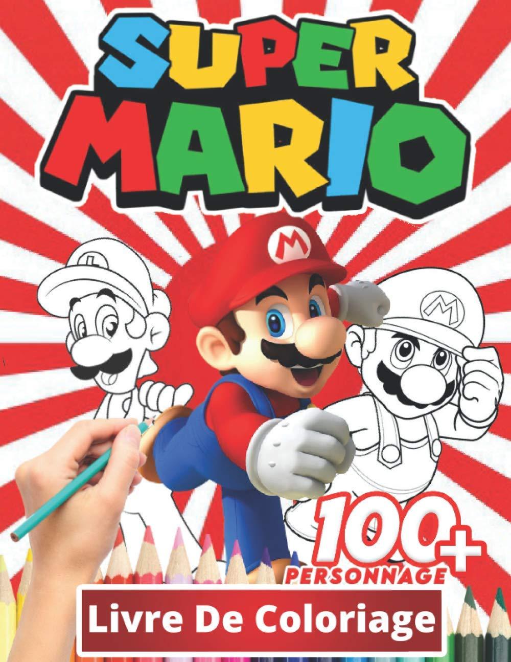 Super mario Livre De Coloriage Coloriages sympas pour les enfants ...