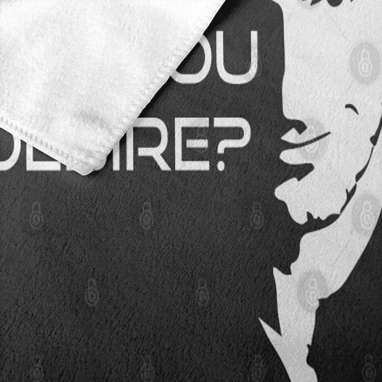 N+A Lucifer Morningstar What Is It You Desire Serviette de bain /à s/échage rapide