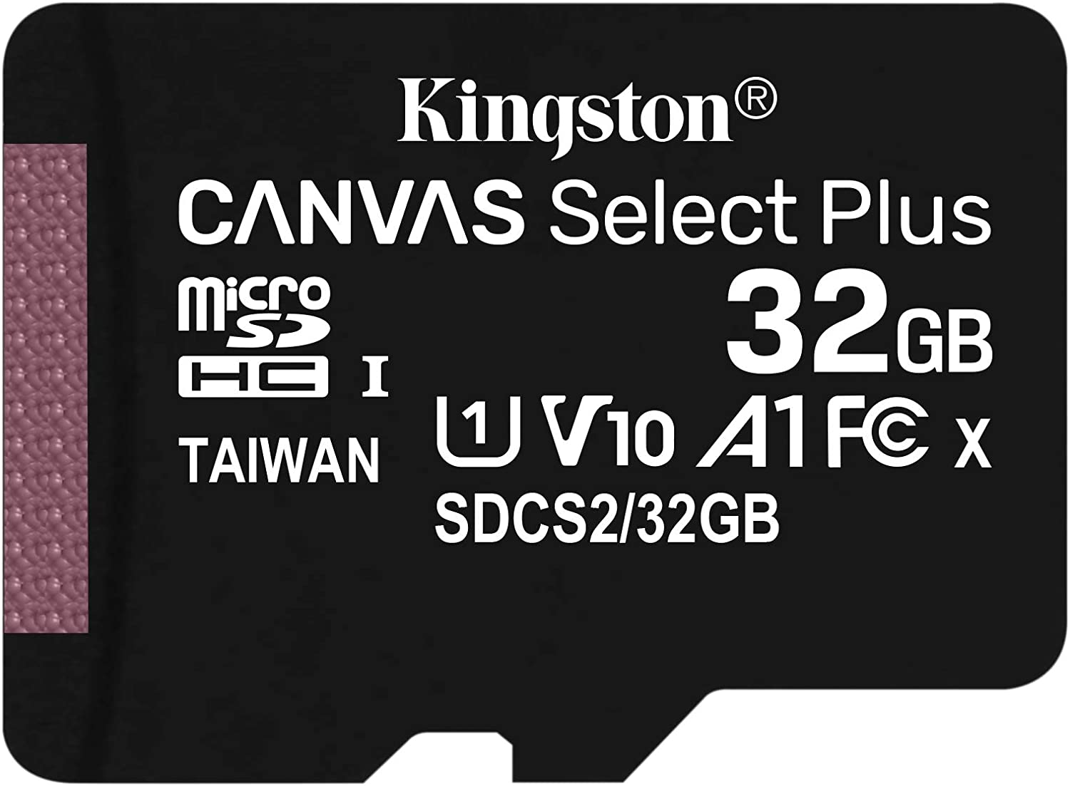 Kingston 32GB LG L65 MicroSDHC Canvas Select Plus Card Verified by SanFlash. 100MBs Works with Kingston