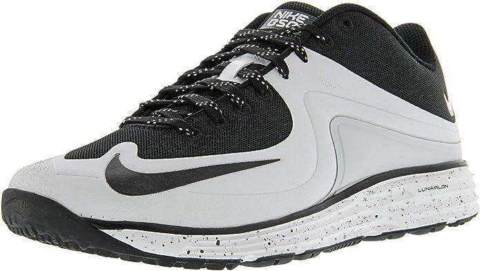 Nike Mens Lunar MVP Pregame II Trainers 9 US White/Black: Amazon.es: Deportes y aire libre