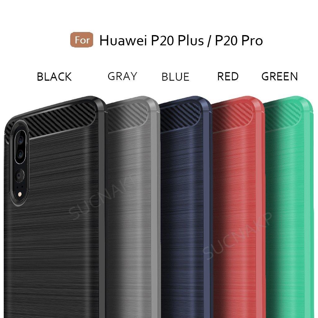 Huawei P20 Plus Casehuawei Pro Case Suensan Tpu Spigen Marked Armor Original Casing Shock Absorption Technology Raised Bezels Protective Cover For
