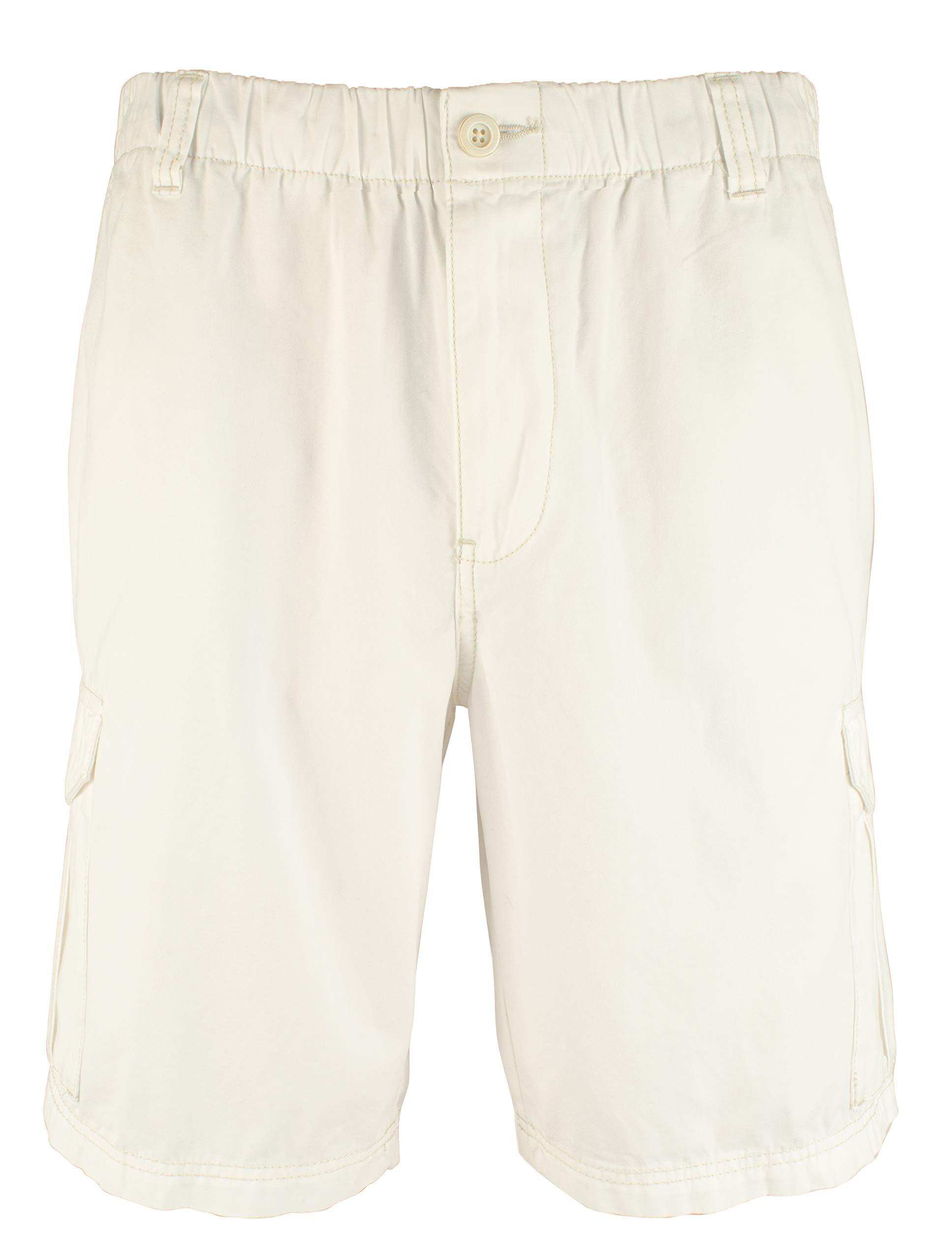 Tommy Bahama Big & Tall Men's Big & Tall Island Survivalist Cargo Shorts Coconut 3XB 9.5 9.5