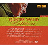 ハンブルク北ドイツ放送交響楽団ライヴ集成 (Gunter Wand Edition - Bruckner: Sym. Nos. 4 & 5, Brahms: Sym. Nos.1~4, Musorgsky: Pictures At An Exhibition, Tchakovsky: Piano Concerto No.1 / Wand, NDR SO) (5CD) [輸入盤]