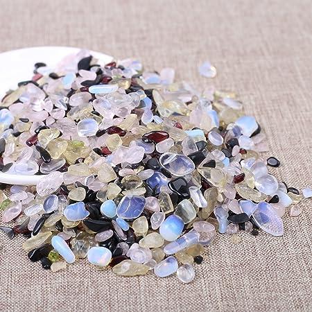 Amazon com: Yujianni 1lb Natural Bulk Crystal Tumbled Stones-Mixed