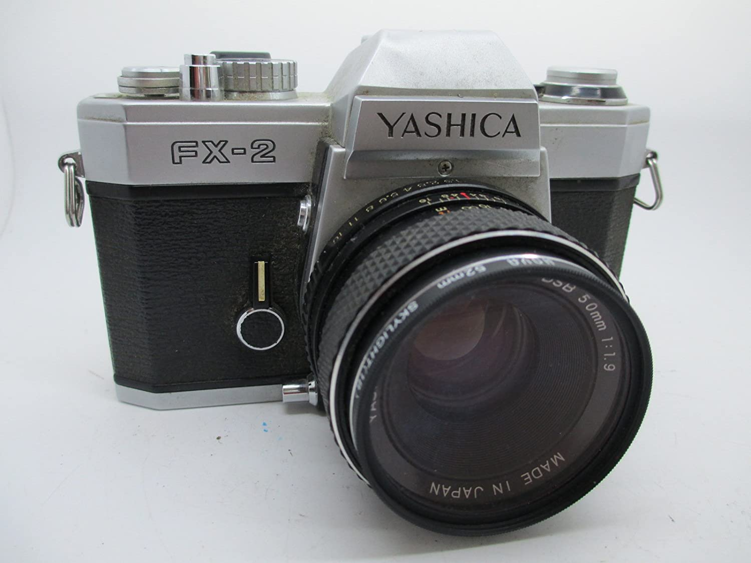 Yashica FX-2 + Yashica Lens ML 50mm F1.7 Montura C/Y: Amazon.es ...