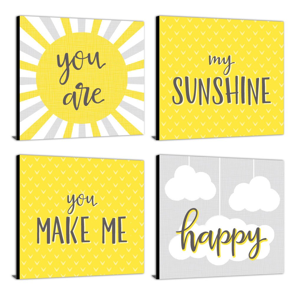 Amazon.com: You Are My Sunshine - Kids Room, Nursery & Home Decor ...