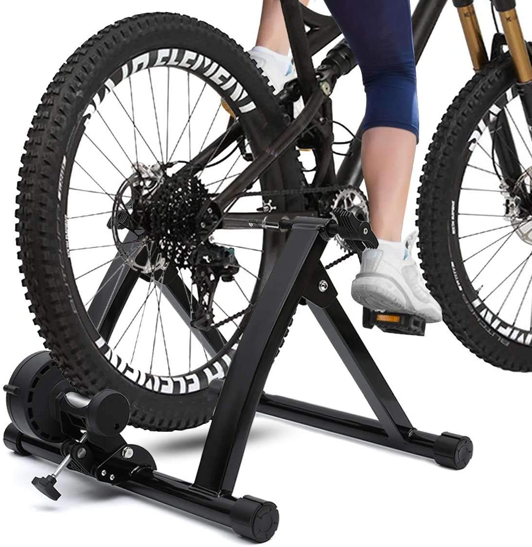 Indoor Exercise Bike Trainer Home Training Resistance Magnetic Bicycle