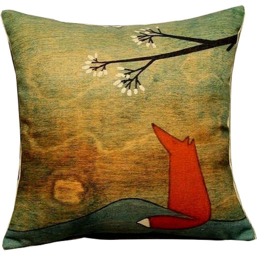 en various pillow mill softheads red cushion fox