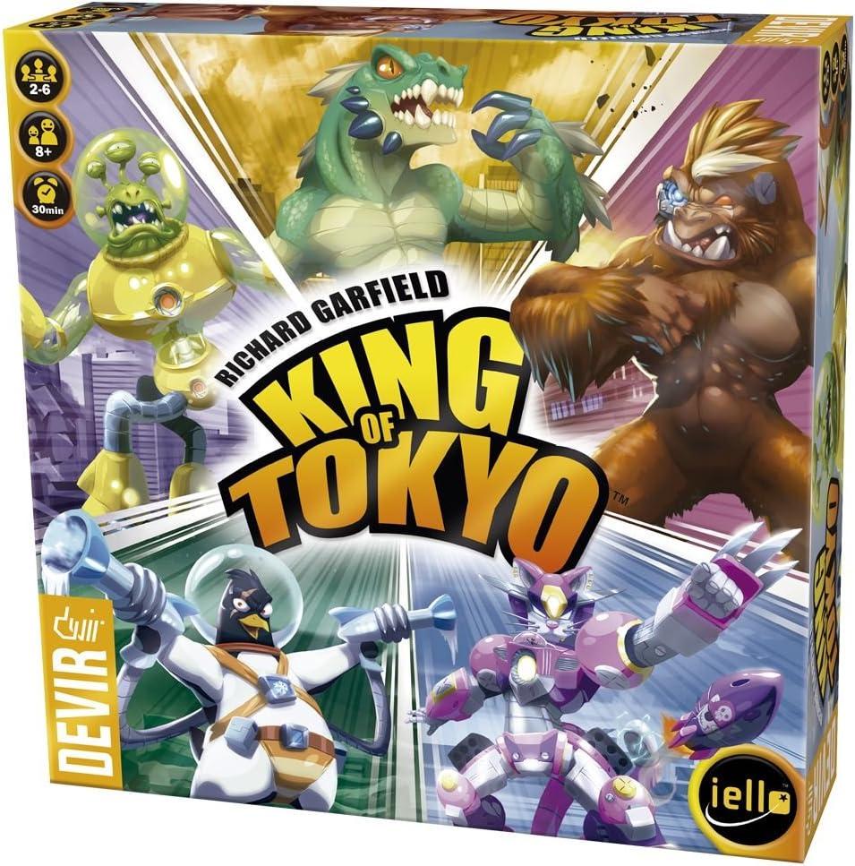 Devir - King of Tokyo edición en Castellano 2016 (BGHKOT): Amazon.es: Juguetes y juegos