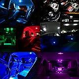 WLJH 70pcs T5 74 2721 LED Bulbs 5050SMD White