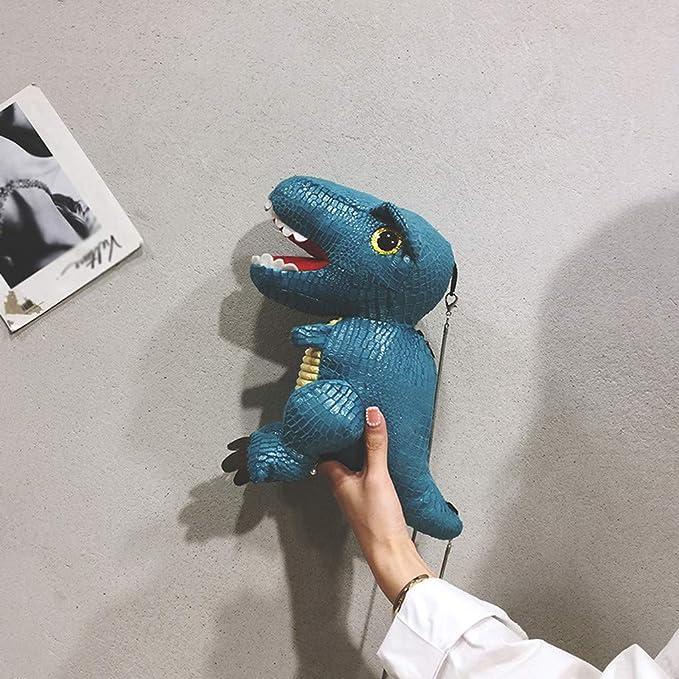 Creativo Bolso de Cuero con Forma de Lindo Dinosaurio para ...