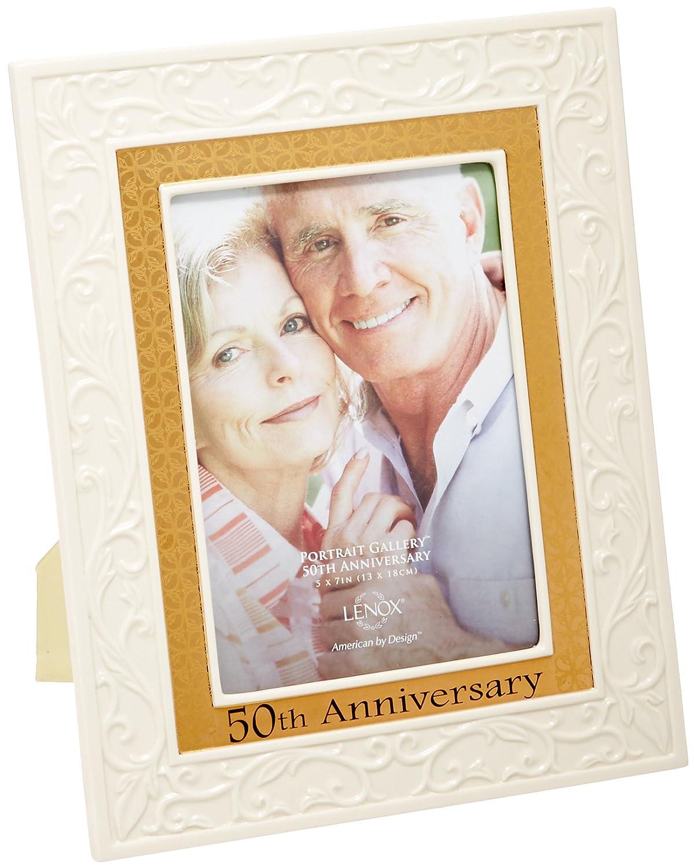 Amazon.com - Lenox Portrait Gallery 50th Anniversary Luxury Frame, 5 ...