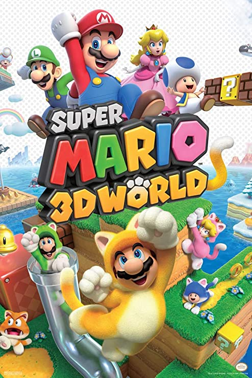 """12/""""x18/""""Super Mario Odyssey posters Home Decor HD Canvas Print Wall Art Picture"""