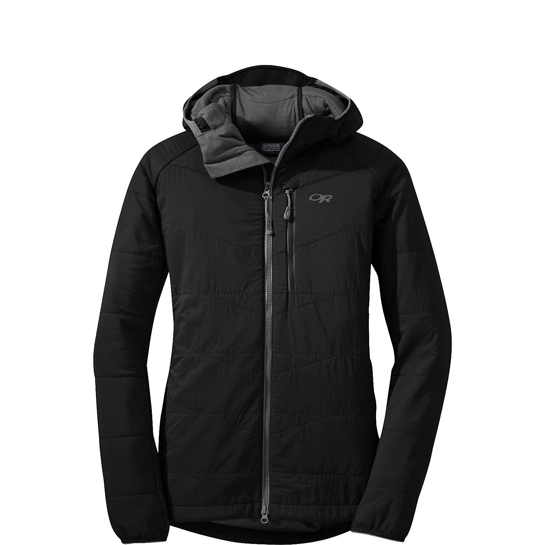 アウトドアリサーチ アウター ジャケットブルゾン Women's Uberlayer Hooded Jacket Black [並行輸入品] B07539ZSBD  XS