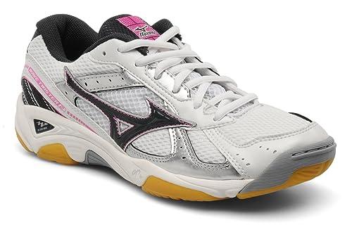 Zapatillas de balonmano Mizuno Wave twister 2 mujer- Talla 36,5EU: Amazon.es: Zapatos y complementos