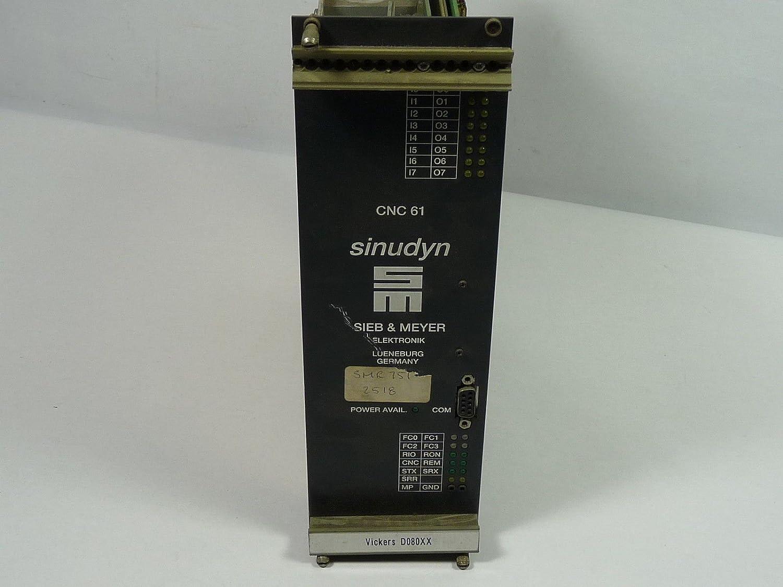Sieb & Meyer sinudyn CNC 61 Vickers D080 X X: Amazon.es ...