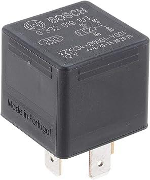 Bosch 0332019103 Mini Relais 12v 30a Ip5k4 Betriebstemperatur Von 40 Bis 100 Schließer Relais 5 Pins Auto