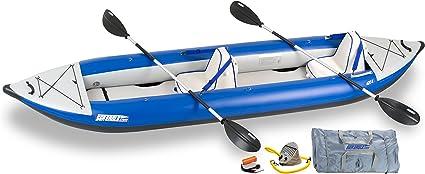 Amazon.com: Mar Eagle 420 x Inflatable kayak con Deluxe ...