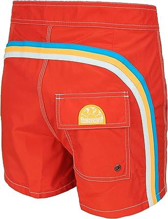 Sundek BOARDSHORT LOW RISE Pantaloncino da Mare con taschino posteriore