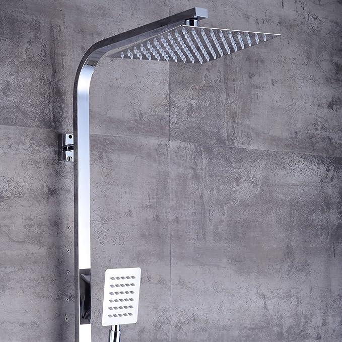Regendusche Duschkopf Handbrause Duschsystem Shower Badteile Dusch Brausearmatur