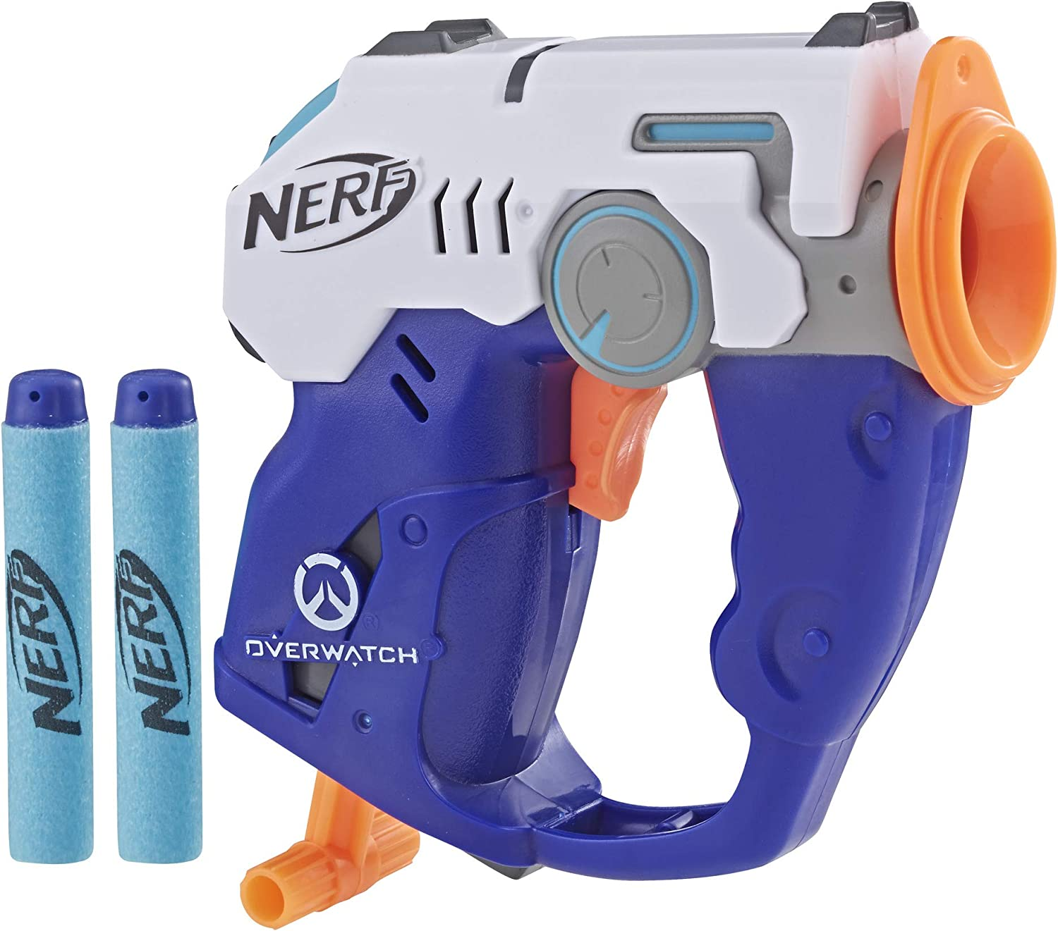 Nerf MicroShots Overwatch Tracer y Official