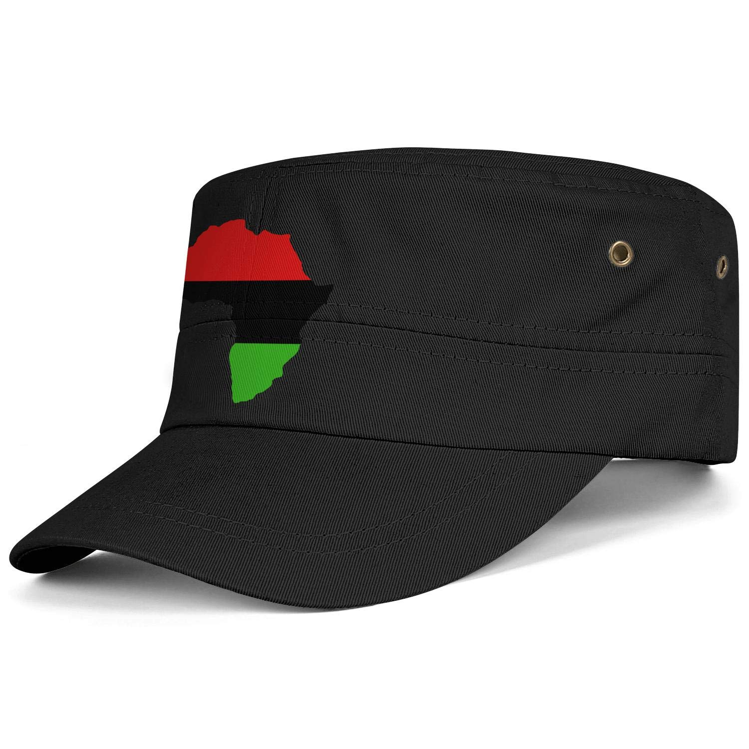Unisex Military Hat Pride Parade Gay Lesbian Pride Rainbow American USA Flag Vintage Flat Top Cadet Army Caps