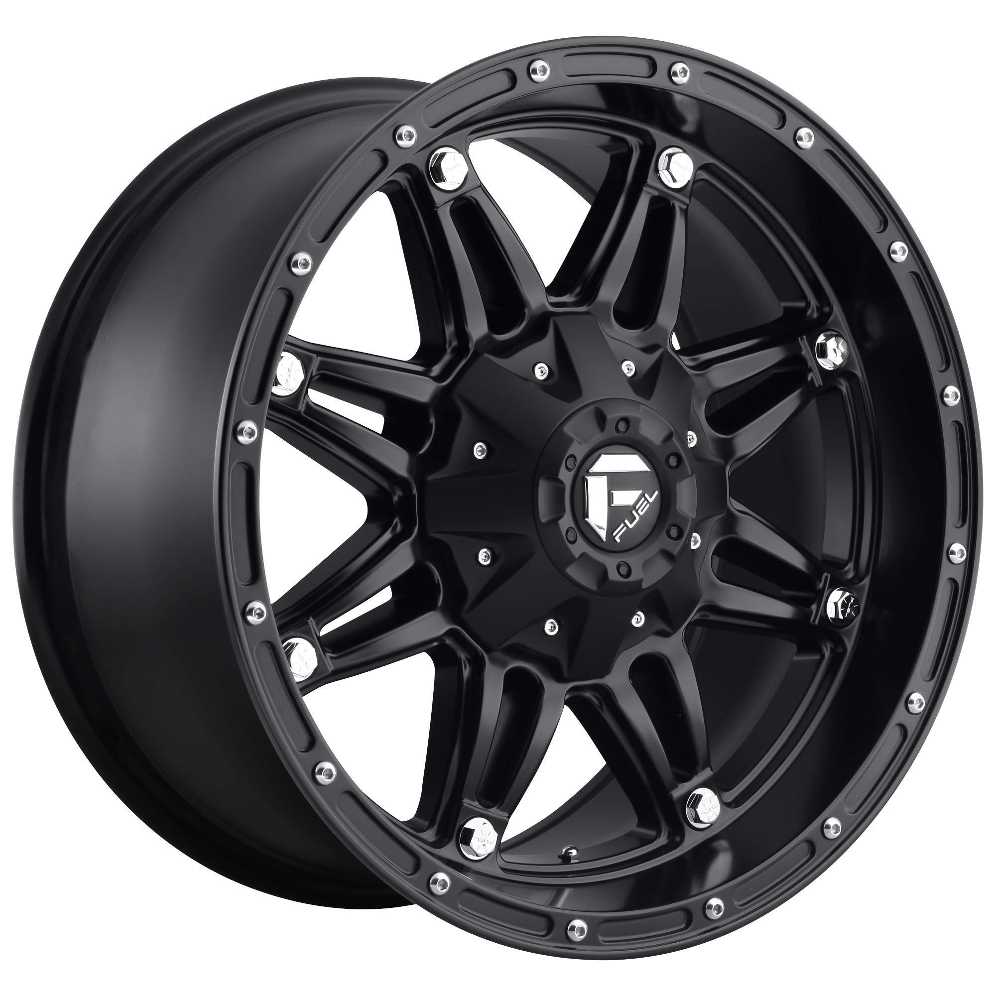 """Fuel Hostage Matte Black Wheel (18x9""""/5x5"""")"""
