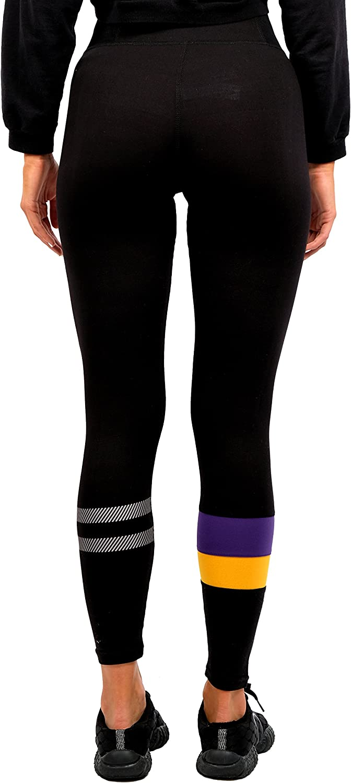 Ultra Game NBA Womens Leggings Perimeter Fitness Sports Yoga Pants