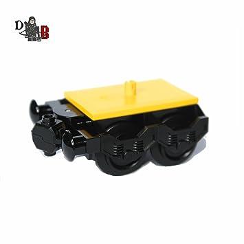 LEGO a medida CIUDAD Tren Motor Duende pequeño con almacenador INTERMEDIARIO & RUEDAS PARA CARRUAJES 60051