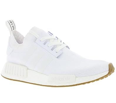 d3c5bbef27e74 adidas Men Shoes Sneakers NMD R1 PK White 46 2 3  Amazon.co.uk ...