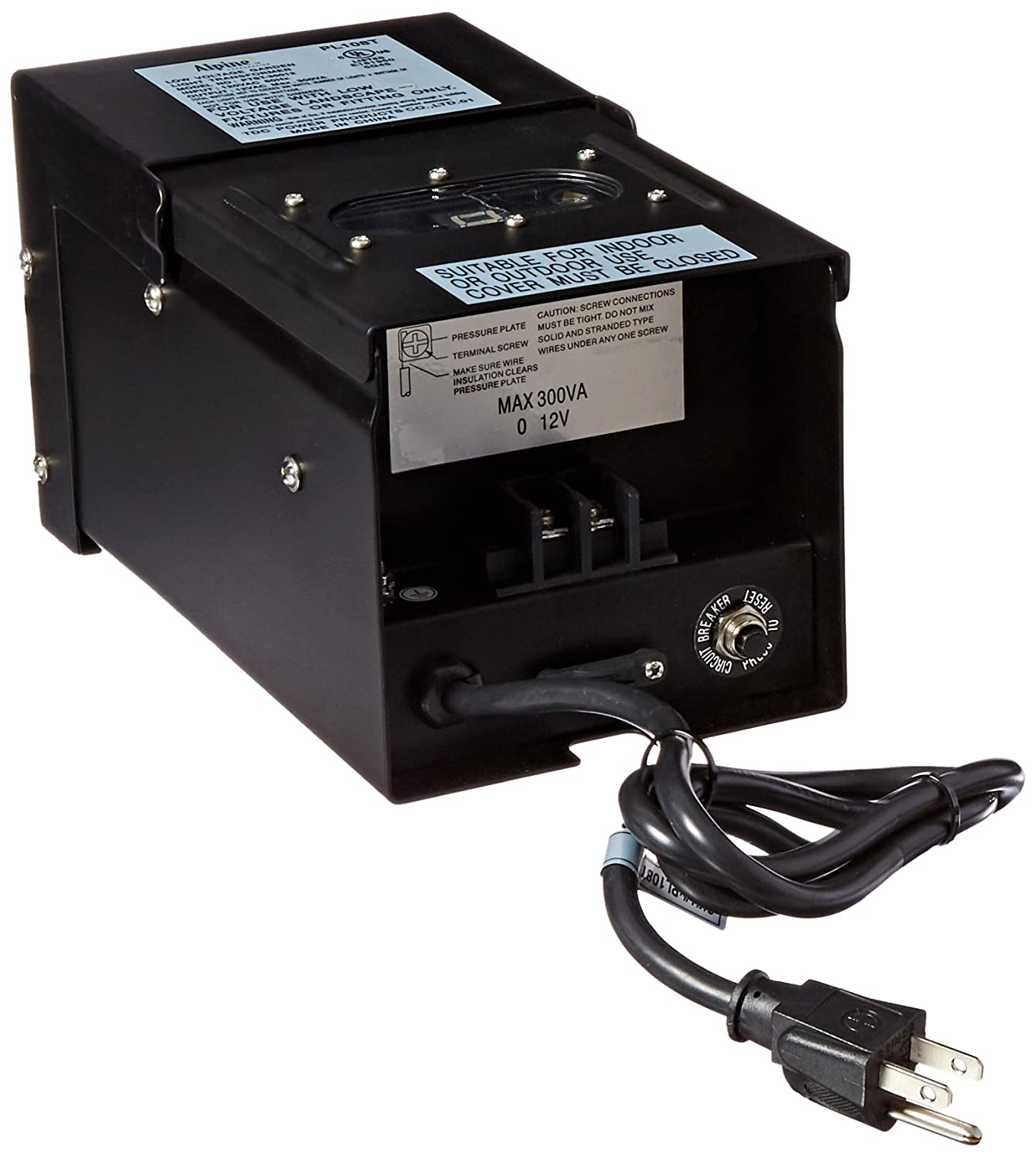 Alpine Transformer With Timer And Photo Cell 300 Watt Photocell Wiring