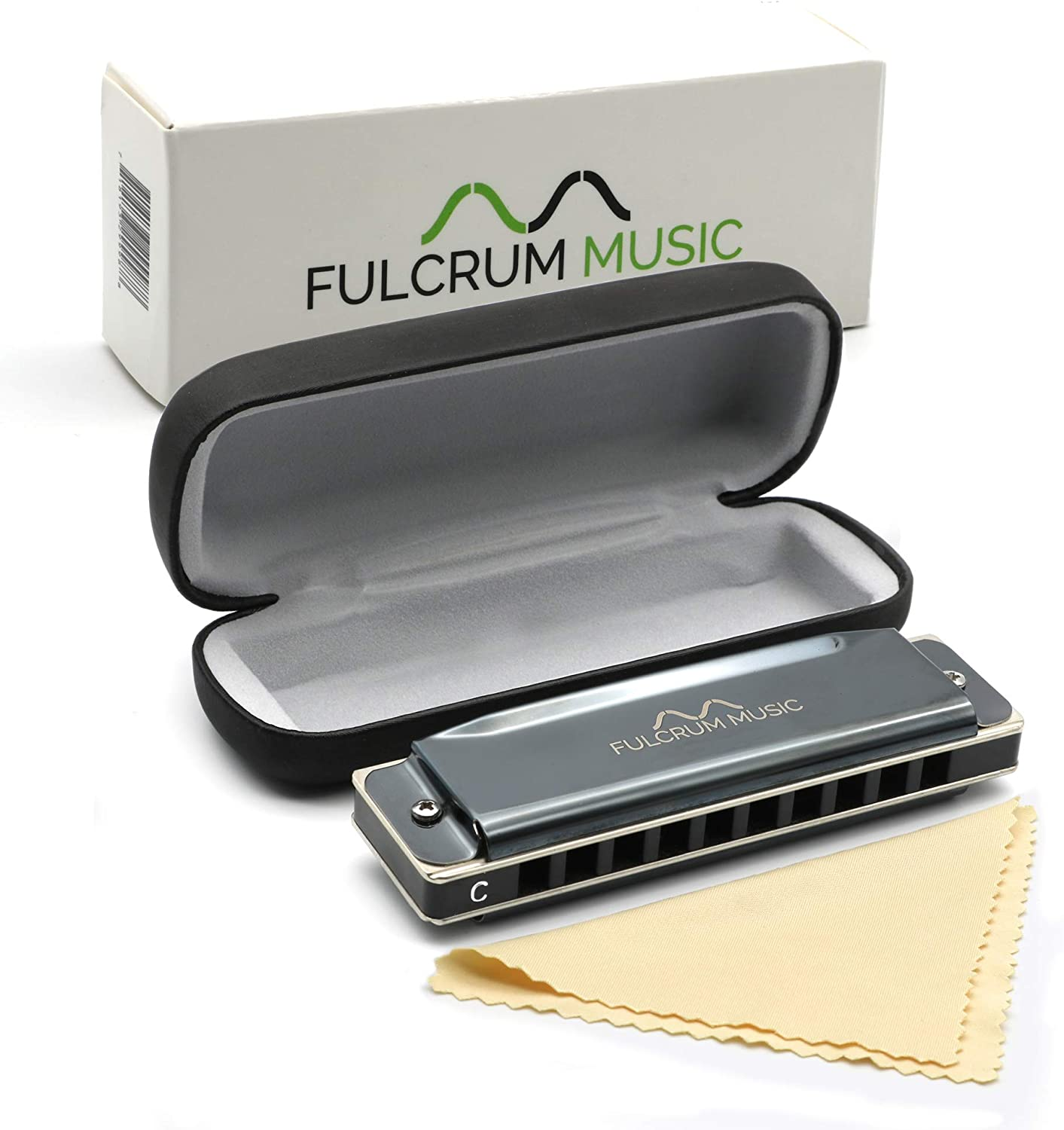 Fulcrum Music Harmonica with Case - Key of C