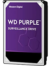 WD Purple 4 TB Surveillance  Hard Disk Drive, Intellipower 3.5 Inch SATA 6 Gb/s 64 MB Cache 5400 rpm